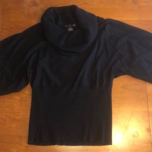 Willi Smith cowl neck sweater